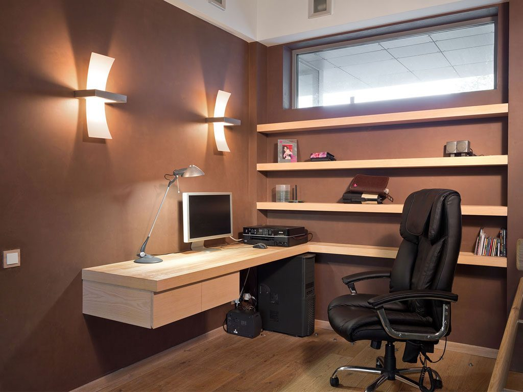 Small modern home office