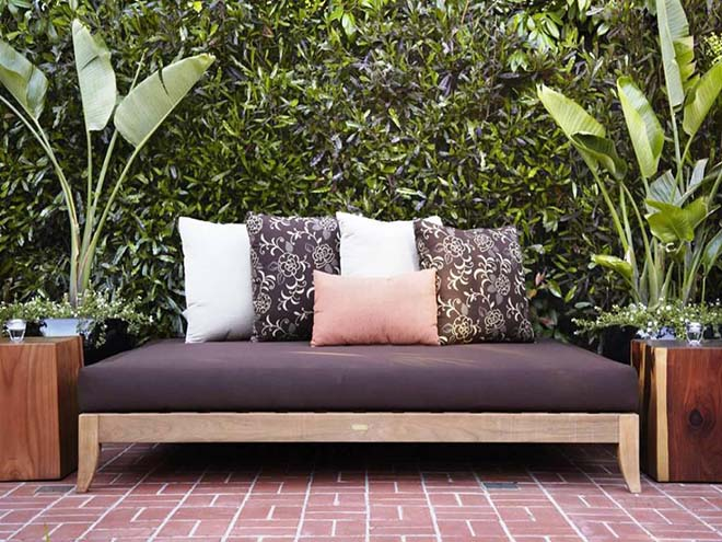 Floral Outdoor Daybed