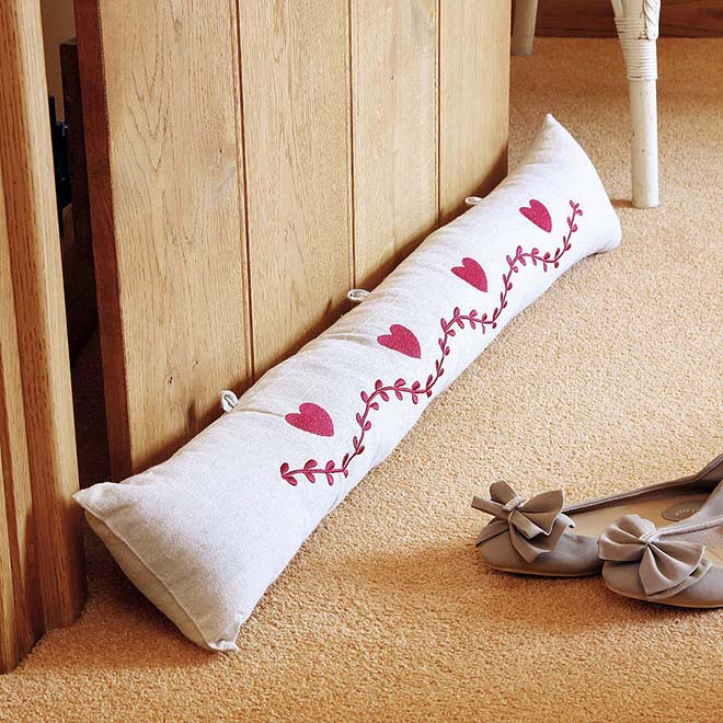 Use Draft Excluders to Save Energy