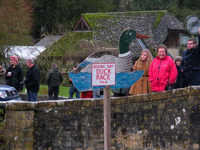 The Bibury Boxing Day Duck Race