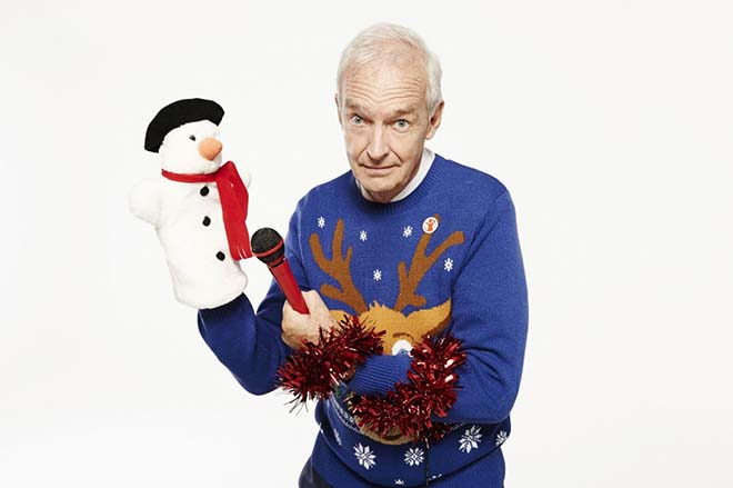 Snow in a Xmas Jumper