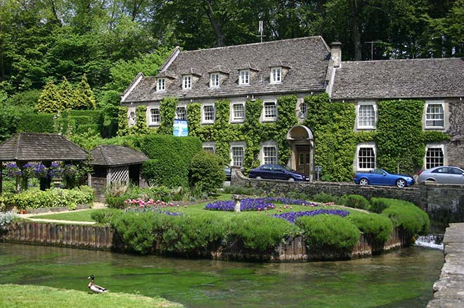 The Swan Hotel in Bibury