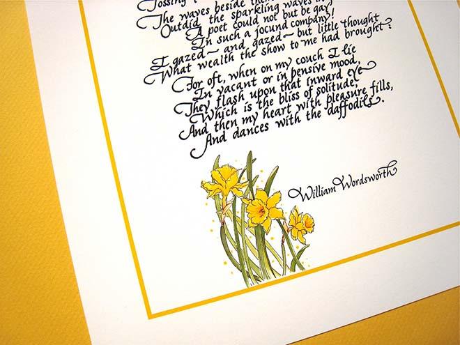Wordsworth poem - Daffodils