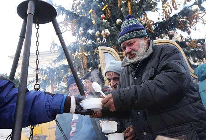 Charity Begins Elsewhere at Christmas