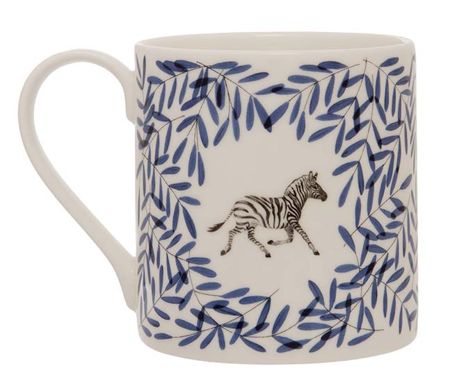 Holly Lassiter Zebra Mug
