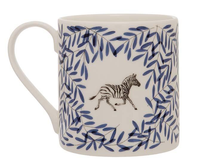 Holly Lassiter Zebra Mug
