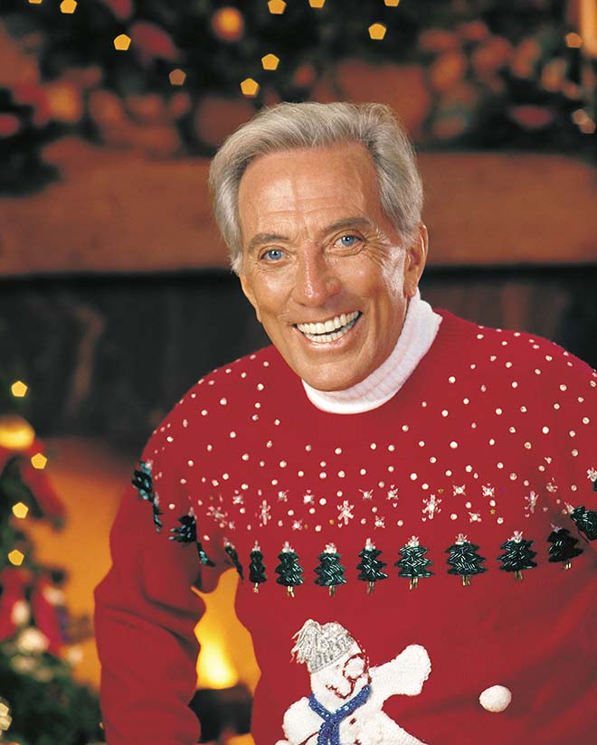Andy Williams at Christmas